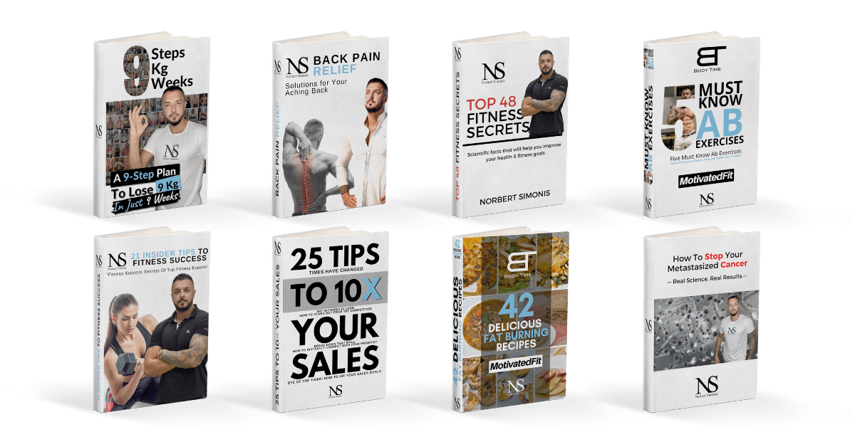 Our Free eBooks for health and fitness